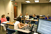 Small group working at Summit 2009